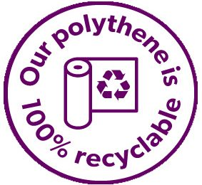 100% Recyclable logo